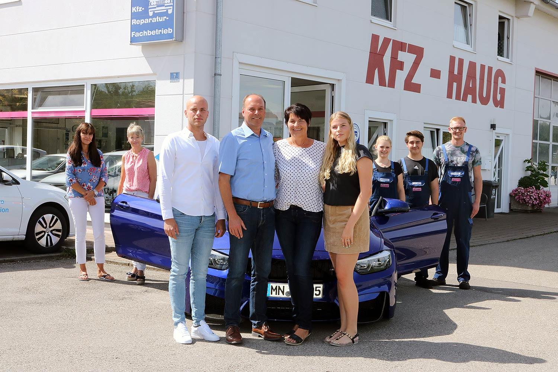 Das Team von KFZ-Haug